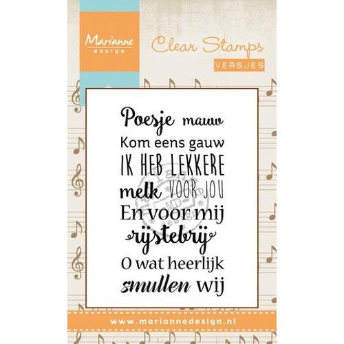 Marianne D Stempel Liedje Poesje mauw (NL) CS0962 (New 03-16)