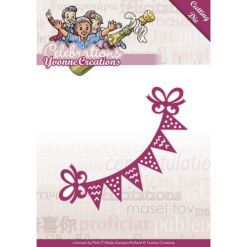 Die - Yvonne Creations - Celebrations - Bunting