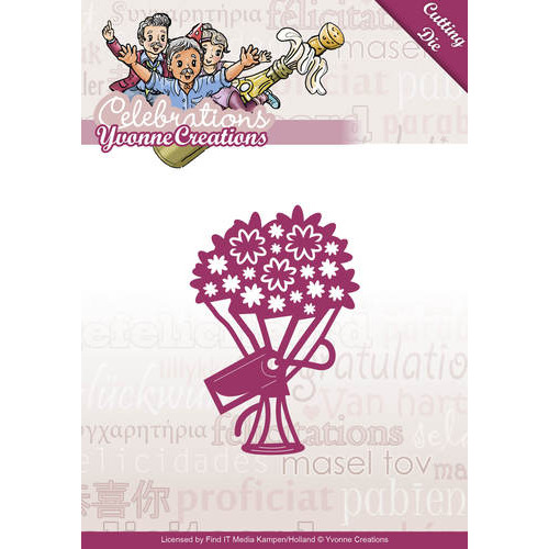 Die - Yvonne Creations - Celebrations - Bouquet