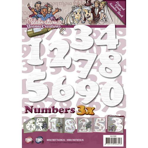 Layered Cards Number Book