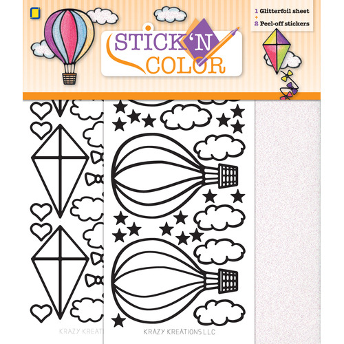 Stick n Color Airballoon