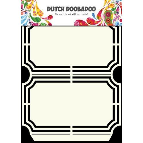 Dutch Doobadoo Dutch Shape Art frames verpakking ticket A5 470.713.129 (new 03-2016)