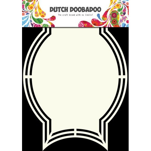 Dutch Doobadoo Dutch Shape Art frames Medal A5 470.713.130 (new 03-2016)