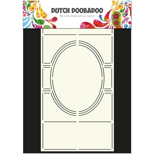 Dutch Doobadoo Dutch Card Art Stencil Swing card 3 ovaal A4 470.713.305 (new 03-2016)