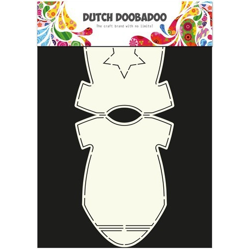 Dutch Doobadoo Dutch Card Art Stencil baby rompertje A4 470.713.595 (new 03-2016)