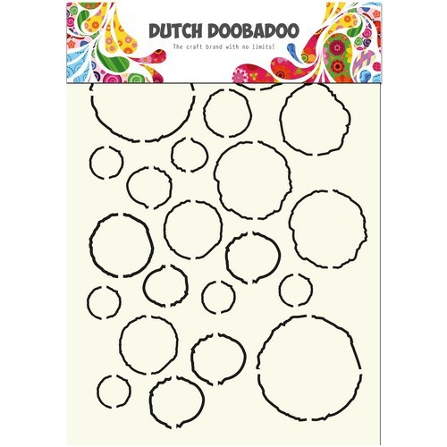 Dutch Doobadoo Dutch Stencil Art stencil Art Grunge A4 470.715.806 (new 03-16)