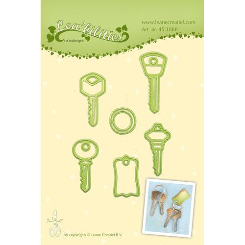 Lea'bilitie® Car keys  snij en embossing mal