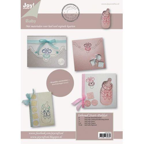 Joy! crafts - Kaartenpakket nr. 24 - Baby