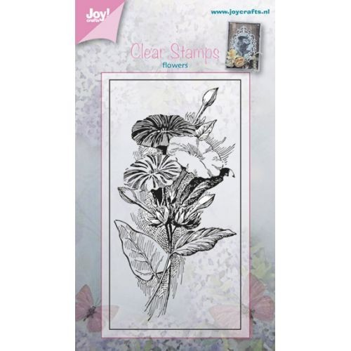 Joy! crafts - Clearstamp - Flowers - Petunia : ca. 50 x 90mm