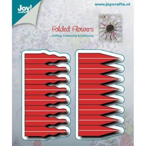 Joy! crafts - Die - Cutting, Embossing & Debossing - Folded Flowers  2 mallen ca. 34 x 68mm