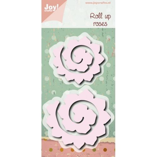 Joy! crafts - Die - Cutting - Roll up roses ca. 70 x 65 / 56 x 52mm
