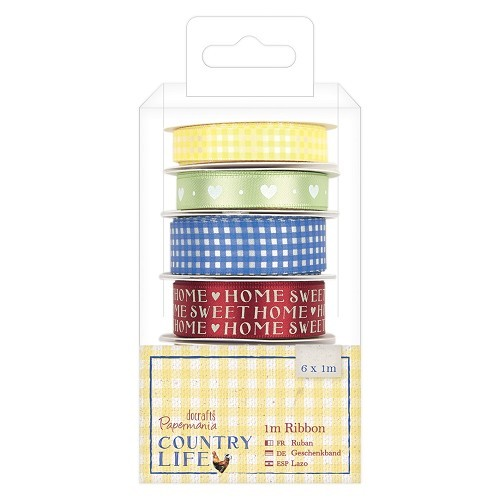 1m Ribbon (6pcs) - Country Life