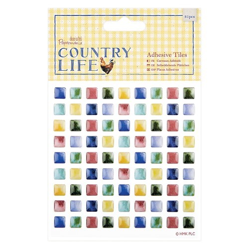 Adhesive Tiles (81pcs) - Country Life