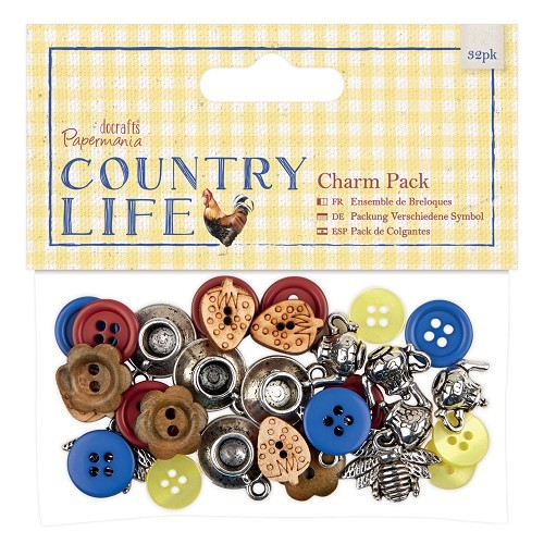 Charm Pack (32pcs) - Country Life