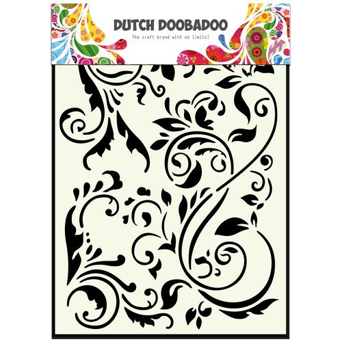 Dutch Doobadoo Dutch Mask Art stencil swirls A5 470.715.047