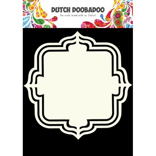 Dutch Doobadoo Dutch Shape Art frames Floral A5 470.713.135