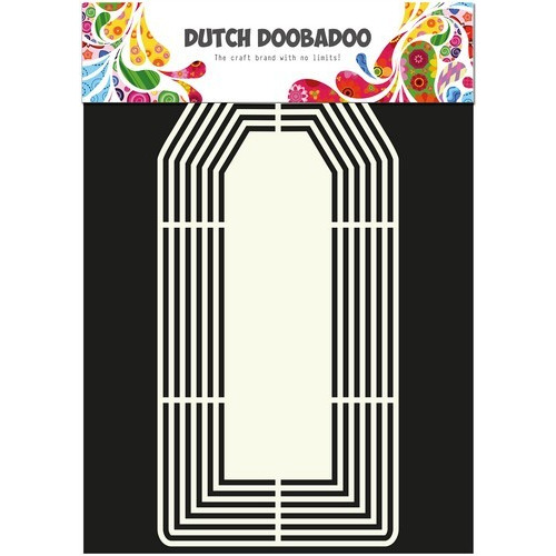 Dutch Doobadoo Dutch Shape Art frames Tag XL A4 470.713.136
