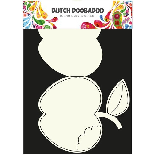 Dutch Doobadoo Dutch Card Art Stencil appel A4 470.713.596