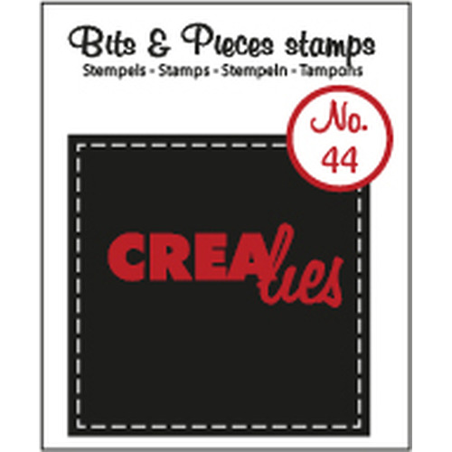 Crealies Clearstamp Bits&Pieces no. 44 45mm / CLBP44