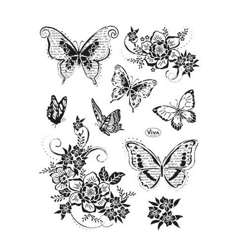 Blumen & Schmetterlinge II