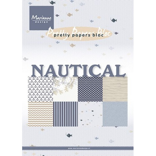 Marianne D Paper pad Nautical PK9133 (New 05-16)
