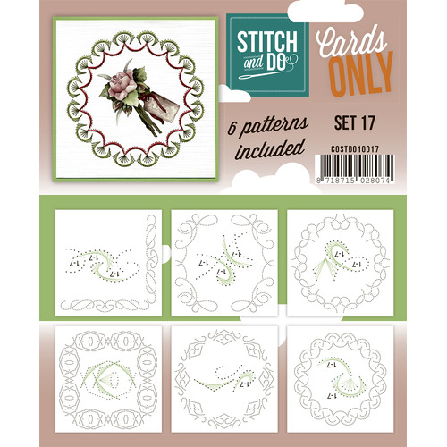 Stitch & Do - Cards only - Set 17