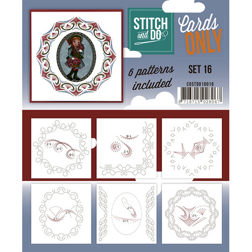 Stitch & Do - Cards only - Set 16