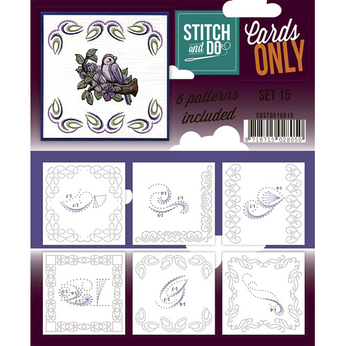 Stitch & Do - Cards only - Set 15