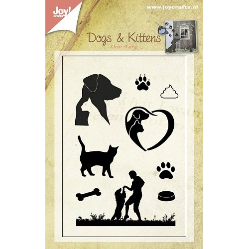 Joy! crafts - Clearstamp - Honden en katten