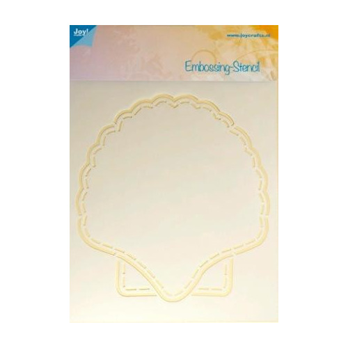 Joy! crafts - Embossingstencil - Schelp Astrid