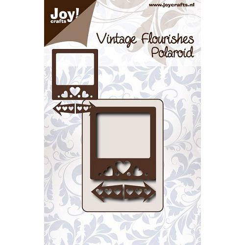 Joy! crafts - Die - Cutting - Vintage Flourishes - Passepartout met hartjes en pijlen