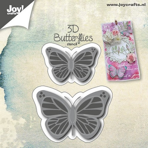 Joy! crafts - Die - Cutting & Embossing - 3D Vlinders