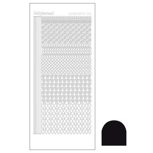 Hobbydots sticker - Adhesive Black