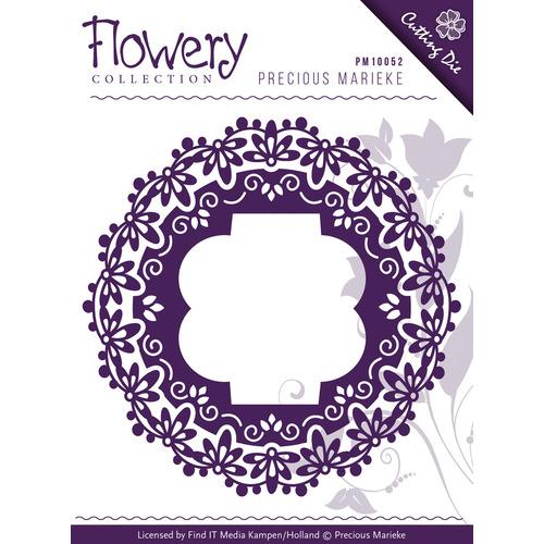 Die - Precious Marieke - Flowery - Fleur-de-Lis Frames