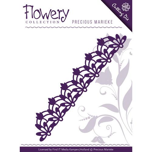 Die - Precious Marieke - Flowery - Fleur-de-Lis border