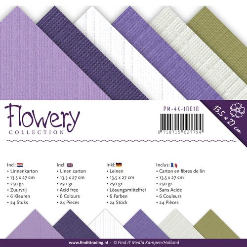 Linnenpakket - 4K - Precious Marieke - Flowery