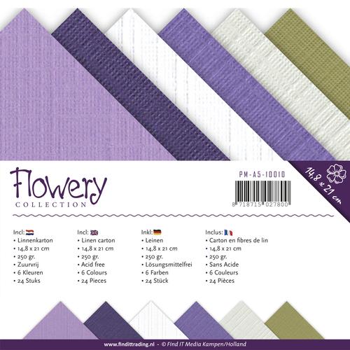 Linnenpakket - A5 - Precious Marieke - Flowery