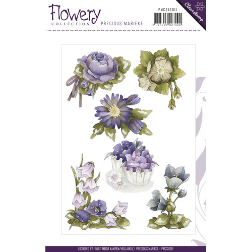 Clearstamp - Precious Marieke - Flowery