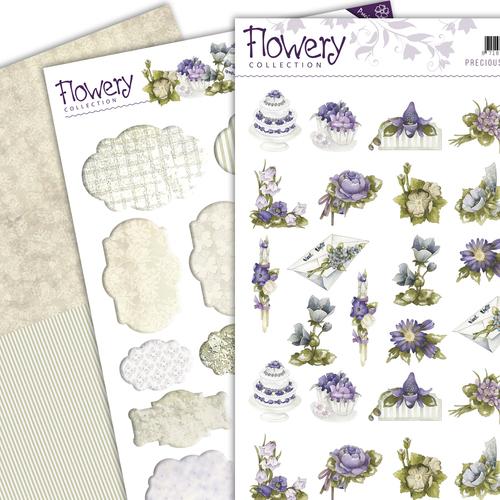 3D SET - Precious Marieke - Flowery - Minis & Labels