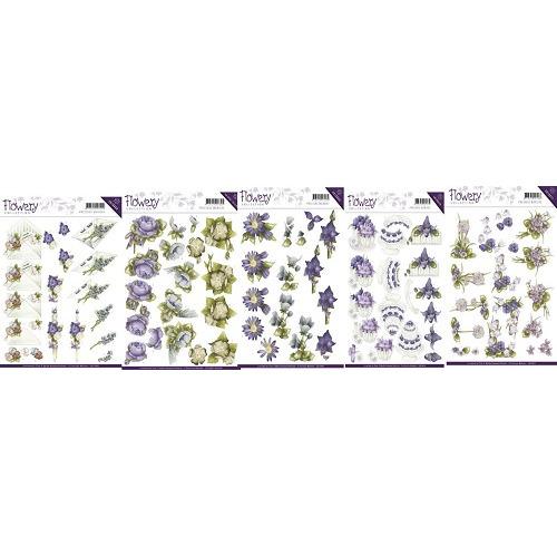 3D Knipvel - Precious Marieke - Flowery Set
