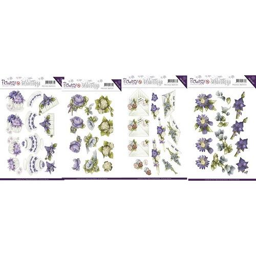 3D Pushout - Precious Marieke - Flowery Set