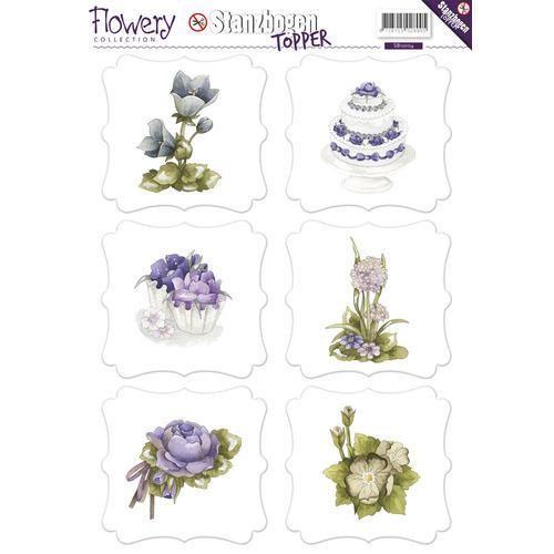 3D Topper - Precious Marieke - Flowery