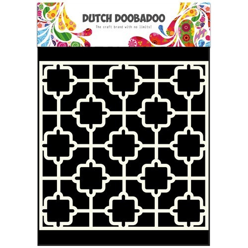 Dutch Doobadoo Dutch Mask Art stencil tile 15x15cm 470.715.601
