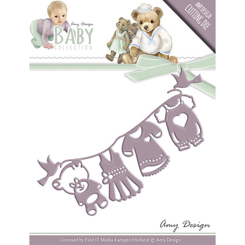 Die - Amy Design - Baby Collection - Clothes line