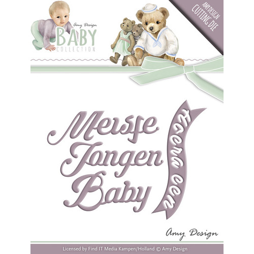 Die - Amy Design - Baby Collection - Text Die