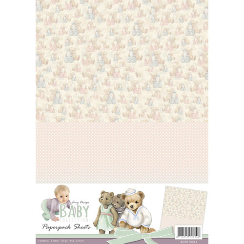 Amy Design - Baby Collection -  background sheets 3