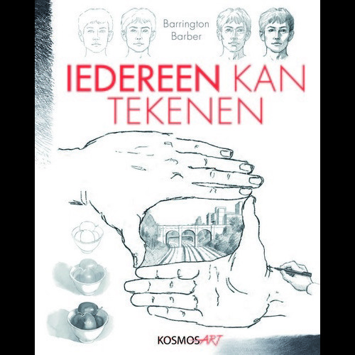 Kosmos Boek - Iedereen kan tekenen (NL) Barber, Barrington (new 06-16)