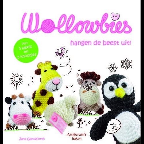 Kosmos Boek - Wollowbies hangen de beest uit! Ganseforth, Jane (new 08-16)