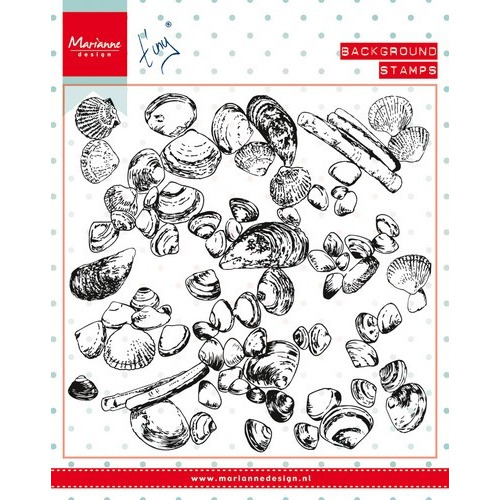 Marianne D Stempel Tiny´s background Sea Shells CS0970 (New 06-16)