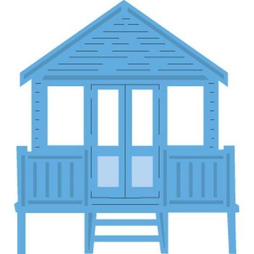 Marianne D Creatable Tiny`s Beach house LR0422 (New 06-16)